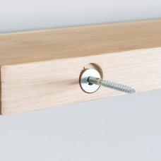 Wandplank 30 Diep.Zwevende Eiken Wandplank 30 Cm Diep Wandplanken En Plankdragers