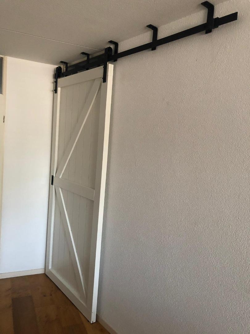 Rail Voor Schuifdeur.Schuifdeursysteem Plafondmontage