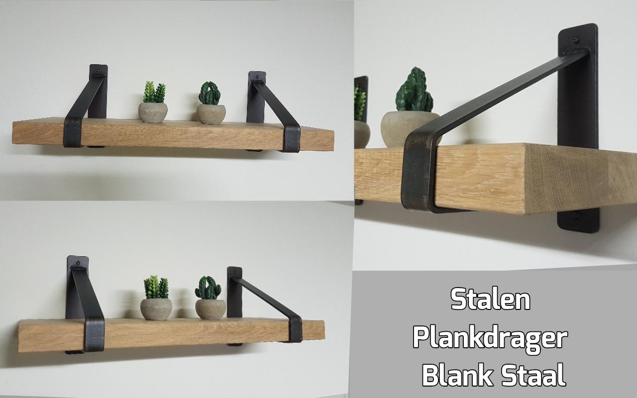 Super Stalen Plankdragers Blank Staal - Wandplanken en plankdragers SY56